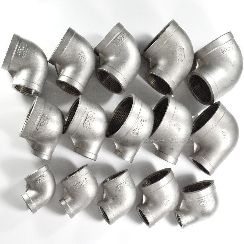 Rohre & Armaturen Hilfreich Megairon 1/2 x1/4 Innengewinde Ellenbogen Reducer Pipe Fitting 90 Grad Abgewinkelt Ss304 Wohltuend FüR Das Sperma