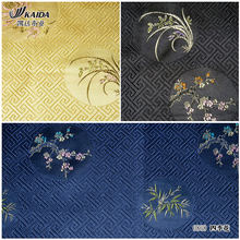 Kaida soie brocart jacquard soie couette belle cheongsam Tangzhuang tissus tissu sijihua 4 couleurs(China)