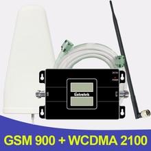 500 Quadratmeter 2G 3G GSM 900 WCDMA 2100 Dual Band Handysignalverstärker GSM 3G UMTS Zellulären Booster Verstärker Antenne
