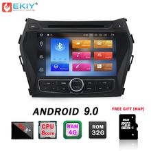EKIY IPS 2din Android 9.0 Car DVD Player Multimediale Per Hyundai Santa Fe IX45 Autoradio GPS di Navigazione Stereo di Musica Audio lettore
