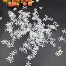 200szt ozdobnych płatków śniegu