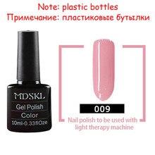 MDSKL 132 Цвета красоты УФ-Гель Лак Для Ногтей 10 МЛ Soak off Блеск Ногтей УФ-Гель Лак для Ногтей Nail Art(China (Mainland))