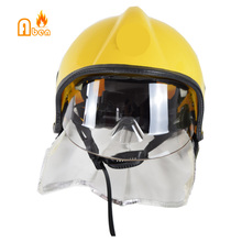 Устойчив к пожару 260 градусов пожарный шлем