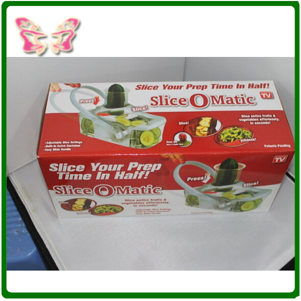 As Seen On Tv Slice O Matic Fruits Vegetables Slicer Advanced Mandoline Knife Kitchen Tools In Garnishes From Home Garden Aliexpress Alibaba