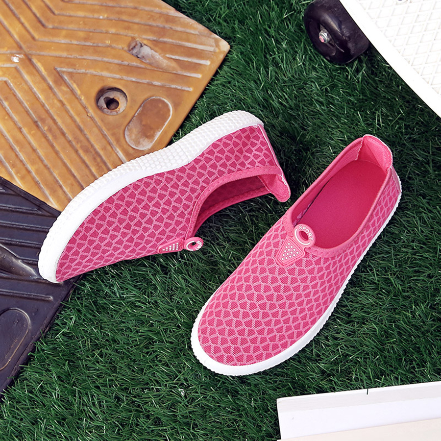 Summer Women Shoes Casual Canvas Shoes Mesh Solid Breathable Platform Flat Shoe Colorful Sapato Feminino Femme Zapatillas Mujer dreamshining summer women shoes casual cutouts lace canvas shoes hollow floral breathable platform flat shoe sapato feminino