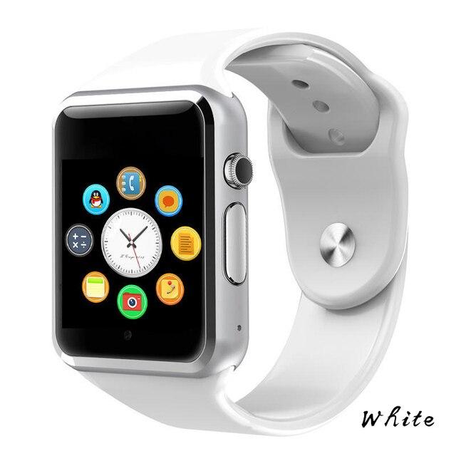 A1 reloj Bluetooth inteligente reloj deportivo podómetro con cámara SIM Smartwatch para Android Teléfono PK GT08 DZ09 Q18 Y1 V8
