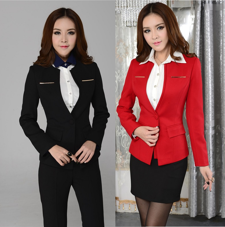 Buy formal uniform design 2015 fashion for Office uniform design 2015