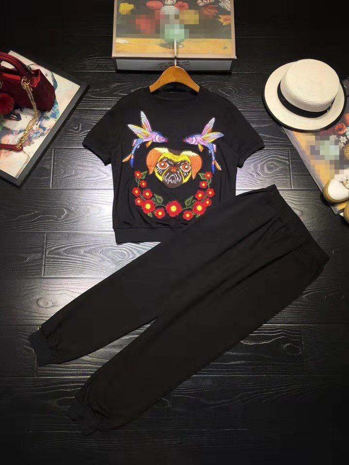 Marque Femmes Partie Ensembles Européenne De Célèbre Piste 2019 Luxe D02454 Design Mode Vêtements Style SAwaqAU