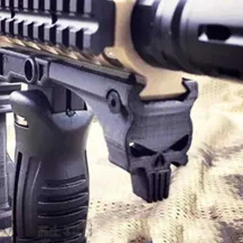 PB Playful bag Gel wel wate bomb gun 3D print skeleton guideway accessories for jingming/std / Punishing M4 M16 AR15 SCAR airsoft gun