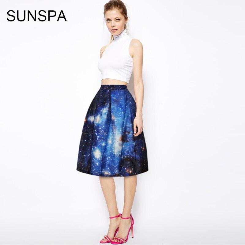 Sunspa 2017 3D аниме юбка новая мода показывает тонкая талия юбка с Высокая Талия Юбка Saia Юбки для женщин женские