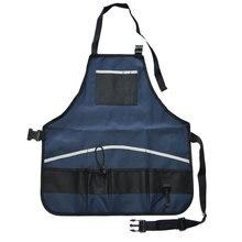 Maleta de ferramentas Jardineiro Avental Avental com Bolsos Multi Versátil De Armazenamento Transportadora Quick pick-Portátil À Prova D' Água Preto Azul