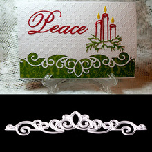 Lace Hollow Frame Metal Cutting Dies Stencil Template For Scrapbook Greeting Card Making Decor