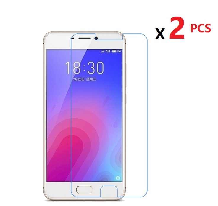 2 PCS High Clear Screen Protector For Meizu M6 M5C M5S  Glossy Film Protector  Guard For Meizu M3 M3S ME3 MU20