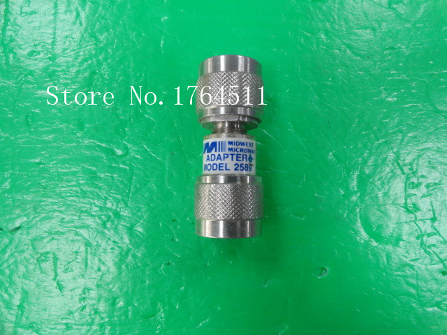 [BELLA] MIDWEST MICROWAVE 2589 N Male Connector  --2PCS/LOT