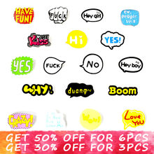 Popular Cartoon Slogan-Buy Cheap Cartoon Slogan lots from China