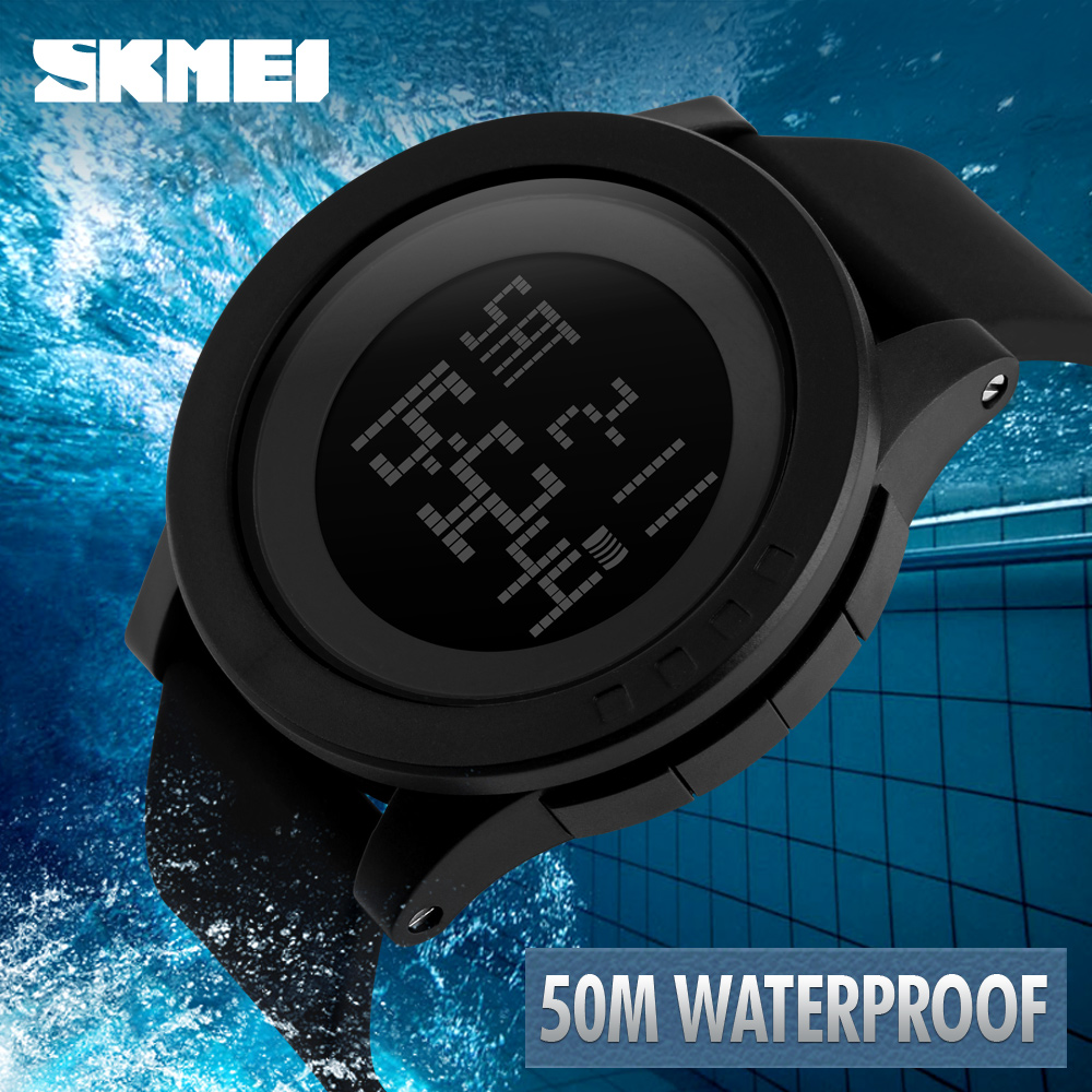 Hot SKMEI Women Sports Watches Fashion Casual Waterproof LED Digital Watch Women Student Wristwatches For Men WomenHot SKMEI Women Sports Watches Fashion Casual Waterproof LED Digital Watch Women Student Wristwatches For Men Women