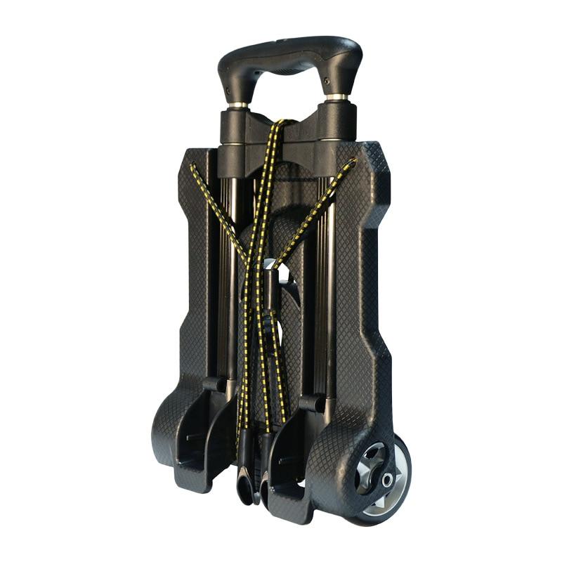 Tüketici Elektroniği'ten Kamera / Video Çantaları'de Ücretsiz kargo evde günlük kullanım için küçük taşınabilir araba katlanır mini arabası araba kamera çantası arabası arabası alışveriş sepeti alışveriş sepeti title=