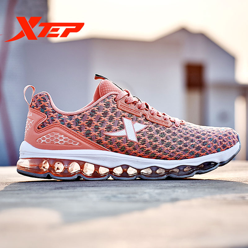 XTEP New Women Running Trail Shoes Sport Breathable Air Sole Shoes Soft Sneakers Shoes 982118119087
