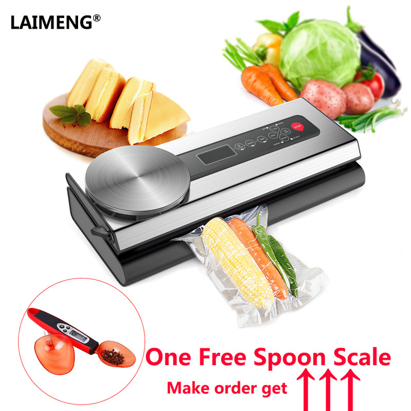 Здесь продается  LAIMENG Vacuum Food Sealer Preservation Vacuum Sealing Machine Combined With Scale Vacuum Bags For Cooking Baking    Бытовая техника