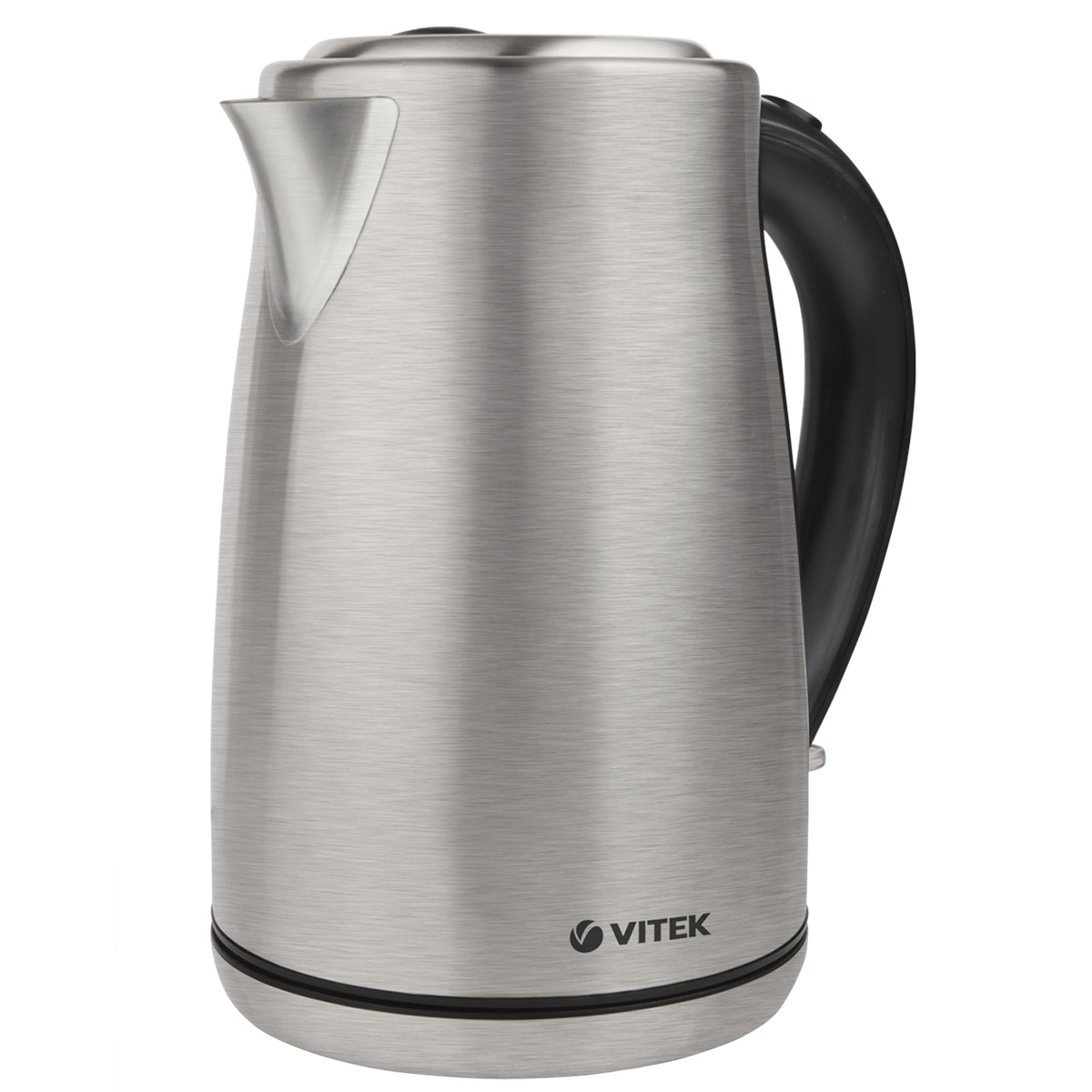 Electric kettle Vitek VT-7020 (ST) (Power 2000 W, volume 1.7 liters, stainless steel body, 360 ° rotation, auto power off) electric water kettle haier hek 182 auto power off protection wired handheld instant heating electric kettle