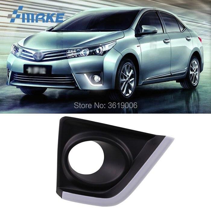 Smrke для Toyota Corolla 14 15 светодиодный DRL Габаритные огни белый дальнего света + желтый указатель поворота Водонепроницаемый стайлинга автомобиле