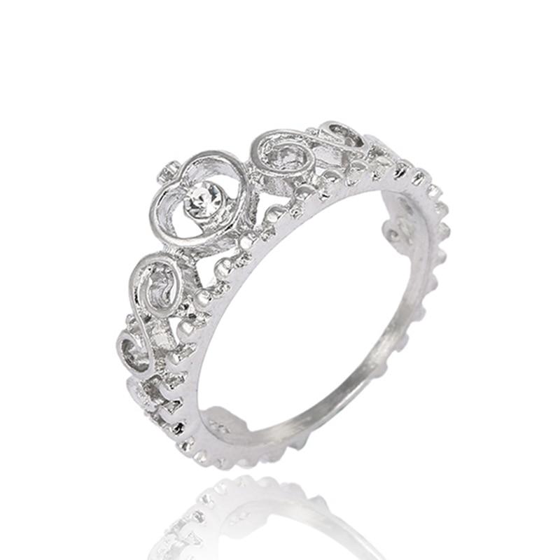 Модные плетеные кольца с кристаллами для женщин, золото/серебро/розовое золото, тонкое женское кольцо, вечерние ювелирные изделия для помолвки - Цвет основного камня: RG009