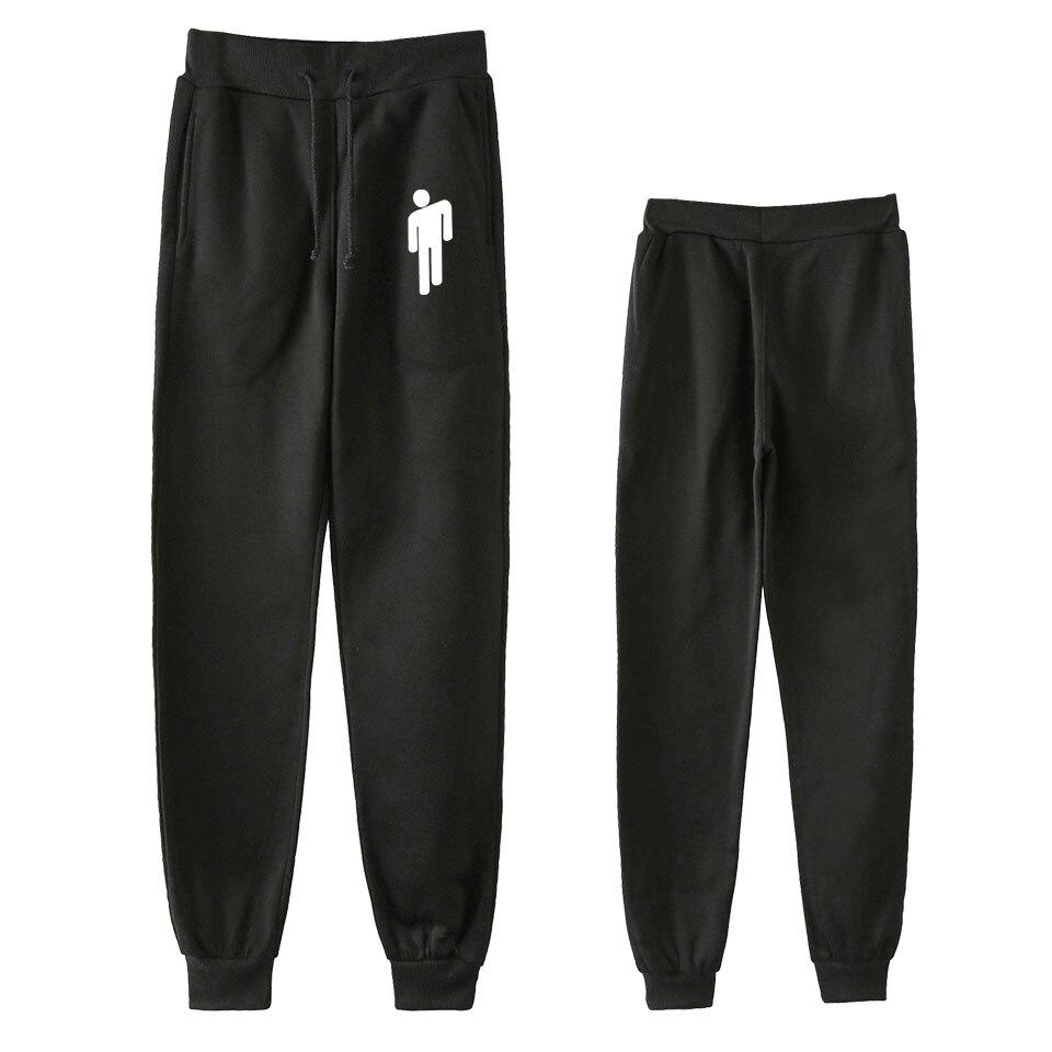 Billie Eilish-Bad Guy Concert Jogger Pants Women/Men Fashion Hip Hop Streetwear Long Pants 2019 New Casual Sweatpants