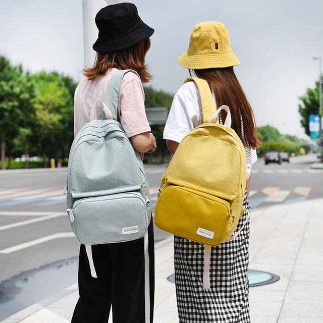 676d1f96c8cf Women Backpack School Bags For Teenagers Girls Fashion Bags Classic  University Student Backpacks Mochilas