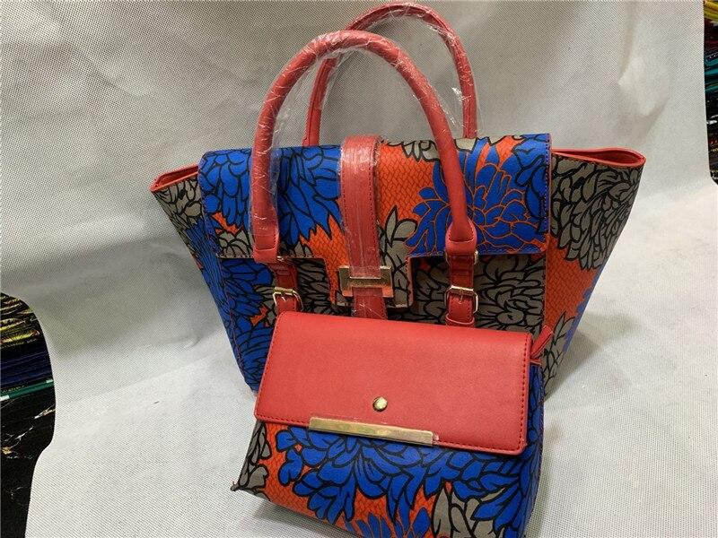 african wax women handbag F93 9