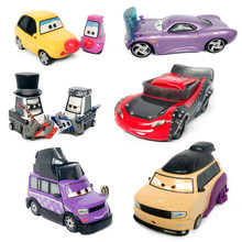 No.188-203 Disney Pixar Cars 3 2 1 METAL Diecast Cars Disney Rare McQueen Sall 1:55 Diecast kid toys for Children Boys Car Gift