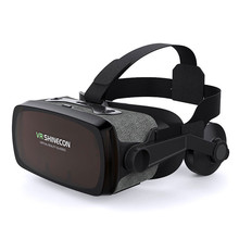 G07E 3D Smartphone Virtual Reality VR Glasses Box Glasses Movie DVD