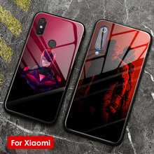 Daredevil marvel soft silicone glass phone case cover shell for Xiaomi Mi 8 9 SE Mix 2 2s 3 RedMi Note 5 6 7 8 Pro