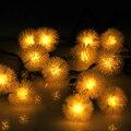 Солнечный свет Строки Рождественские огни открытый цвет лампы строка открытый супер яркий СВЕТОДИОДНЫЙ главная водонепроницаемый газон, сад, двор