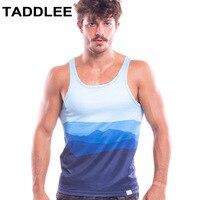 Taddlee Brand Men's Sports Sleeveless Shirts Tank for Men Undershirts Singlet Running Bodybuilding Fitness Gym Man Top Tees Gasp