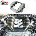 Автомобильный Стайлинг для Nissan R35 GTR CBA DBA M-Style  углеродное волокно  крышка шахтного двигателя  глянцевая отделка  GT-R  внутренняя отделка  набо...