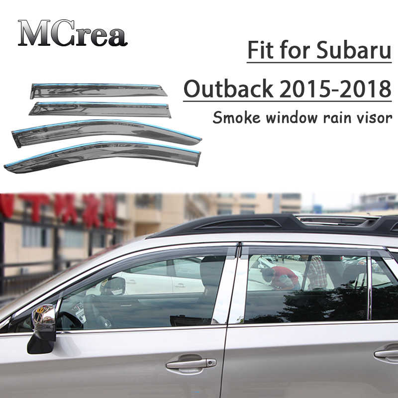 Fits Legacy 2015-2019 OE Style Window Vent Visors Sun Rain Wind TRIM Deflectors