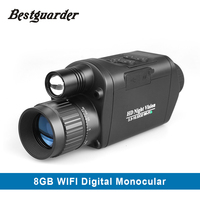 3 5X32mm Wifi Wireless HD Digital Infrared Night Vision Hunting Monocular Scope With Camera Camcorder Function