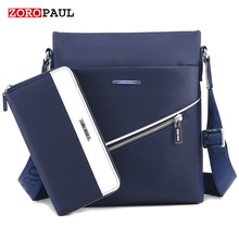 ZOROPAUL Casual Office Bags for Men Oxford Designer Handbags Men's Messenger Bags Male Black Crossbody Fashion Shoulder Man Bag