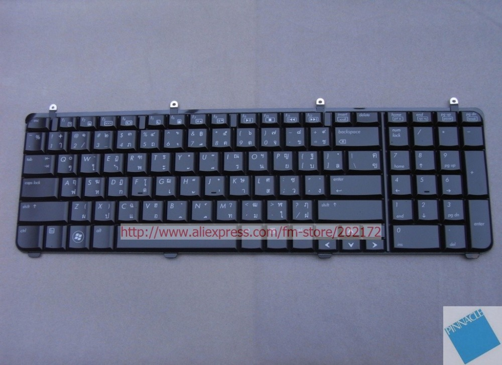 все цены на Brand  New Black  Laptop   Keyboard  534695-281 AEUT5-00110 For HP Pavilion DV7  series Thailand 100%  compatiable us онлайн