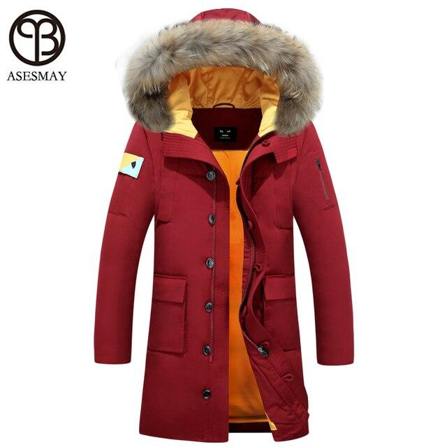 6fe03284941 Asesmay 2016 New fashion warm coat for men winter jacket high quality parka  men down jacket