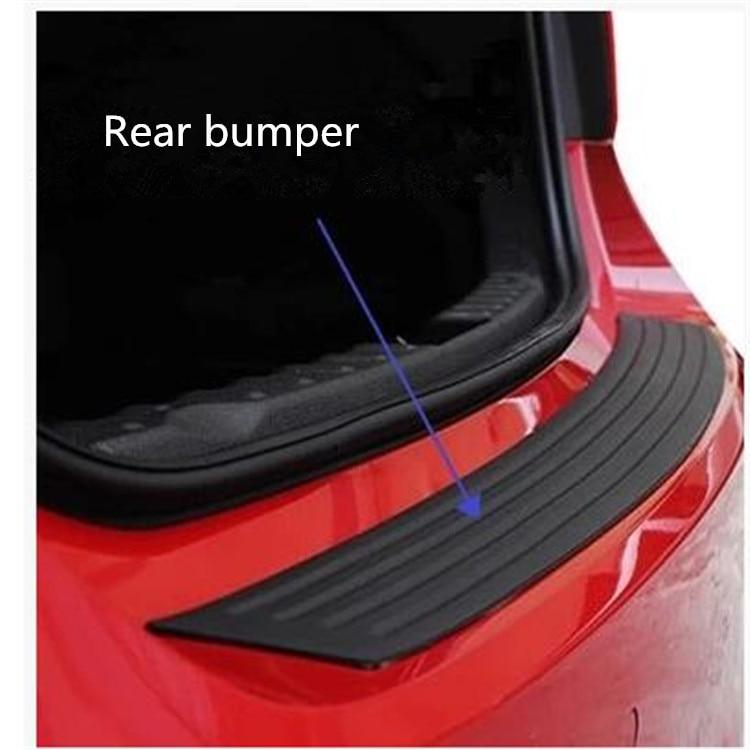 Car Trunk Rubber Bumper Auto Rubber For Mini cooper countryman clubman R55 R56 R57 R58 R59 R60 R61 F55 F56 Accessories sun protection cool hat car logo for mini cooper s r53 r56 r60 f55 f56 r55 f60 clubman countryman roadster paceman car styling