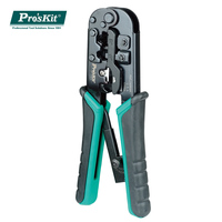 Pros'Kit CP 376TR 4P/6P/8P Telecom Crimping Tool 190mm Plastic steel Cable