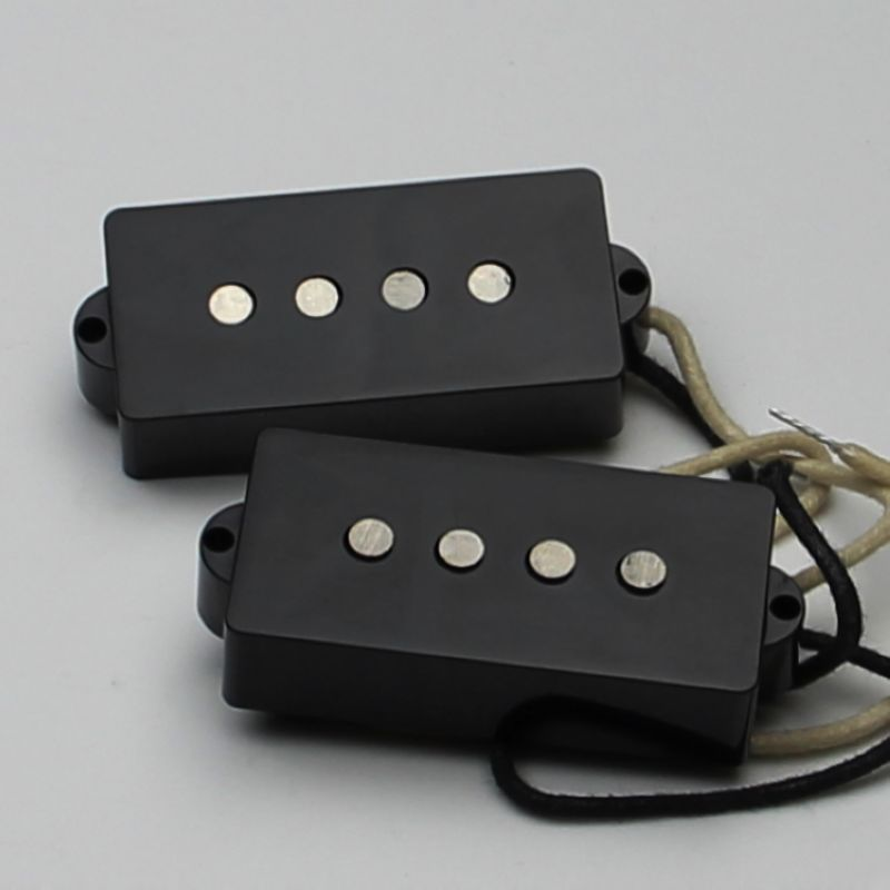 VINTAGE SPLIT PICKUP FOR P BASS Guitar Pickup BLACK