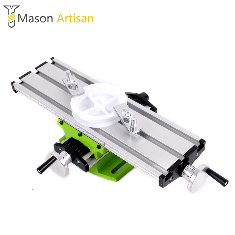 1Piece Woodworking Bench Clamp 30cm Length Table Vise Milling Machine Universal Workbench for Drill Stand 60mm aluminum bench vise table flat clamp on plier drill press milling machine clamping clamp firmly woodworking hand tool