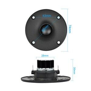 Image 4 - AIYIMA 2 шт. 3 дюймовый высокочастотный мини динамик 4 Ом 5 15 Вт Hifi стерео динамик s громкий динамик 75 мм DIY Домашнее аудио