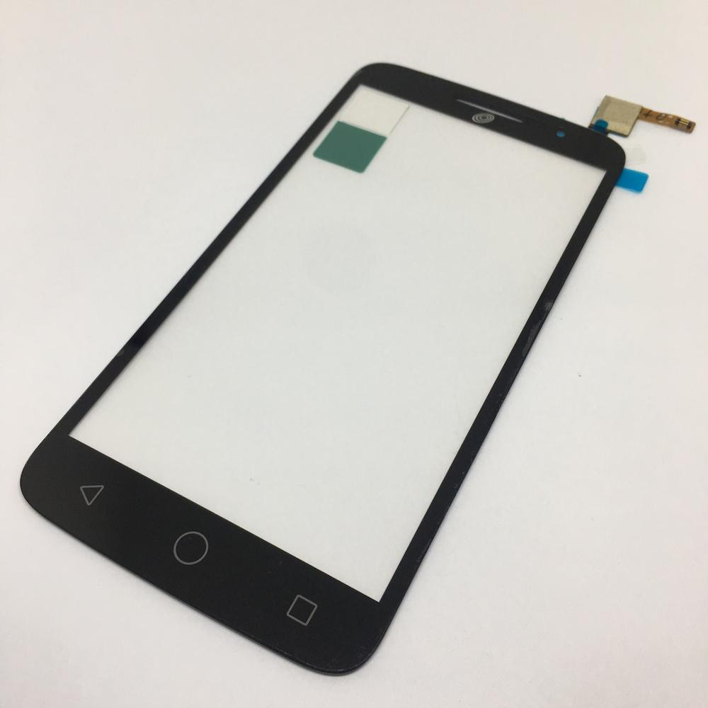 Black Touch Screen Digitizer For <font><b>Alcatel</b></font> One Touch Pop 2 OT7043 7043 7043Y 7043A 7043E <font><b>7043K</b></font> Touch screen image