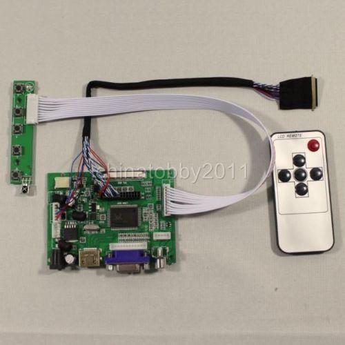 HDMI+VGA+2AV Controller board VS-TY2662-V1 work for 15.6inch B156XW02 1366*768  lcd panel
