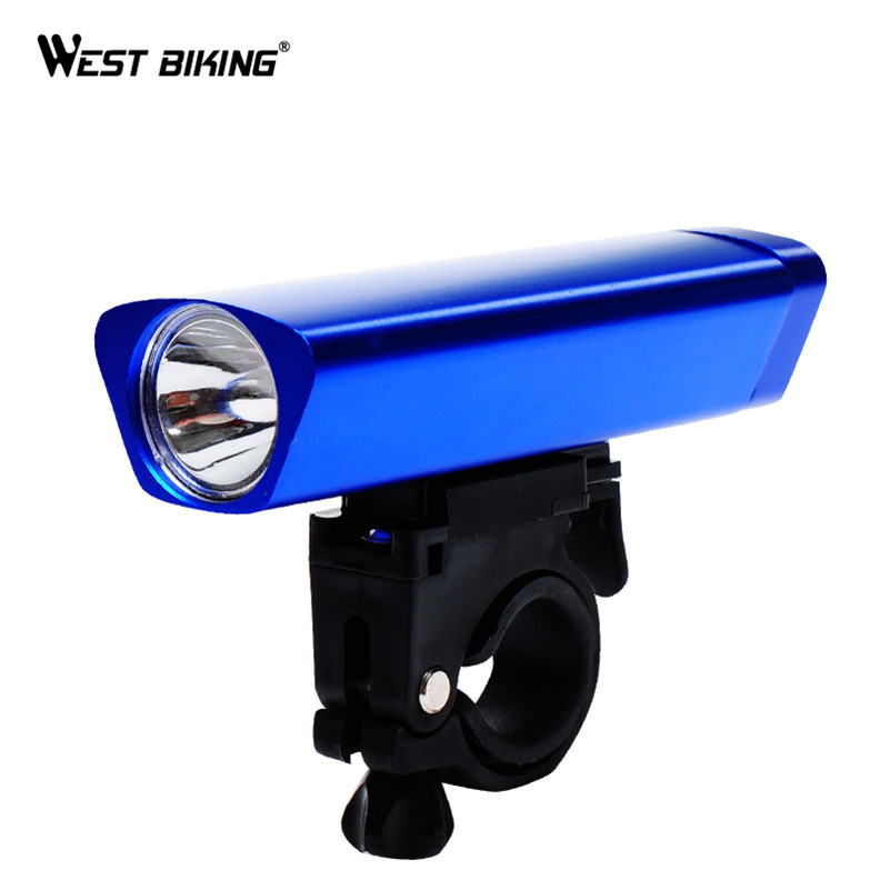 West Biking Bicyle Led Front Light With Frame Set Outdoor Mtb Road Bike Accessories Flashlight