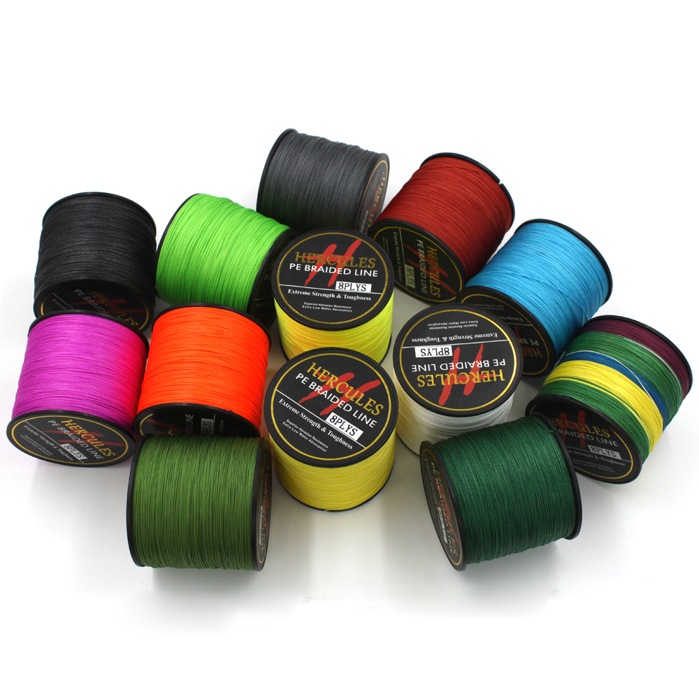 8 strands 1000m pe braided fishing line saltwater fishing for Best braided fishing line saltwater