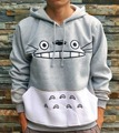 Thick Cute Women Sweatshirt Autumn/Winter Cartoon Totoro Sweatshirts Long Sleeve 3d Pullover Hoodies With Pocket Size S-XL 22